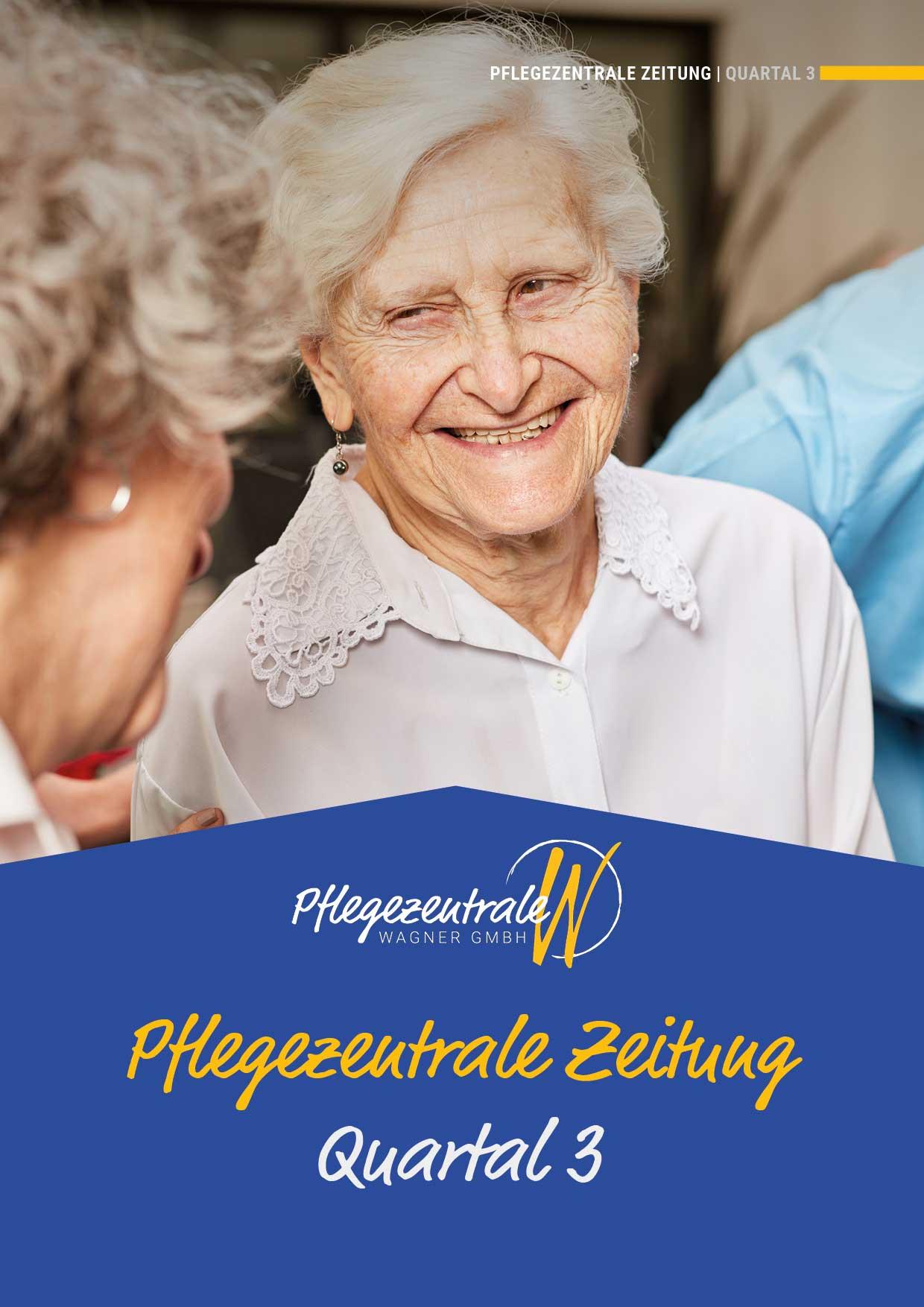 Cover Pflegezentrale-Zeitung