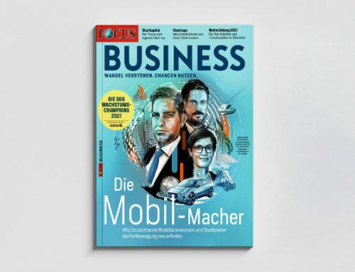 Wir sind Focus Business Wachstumschampion!