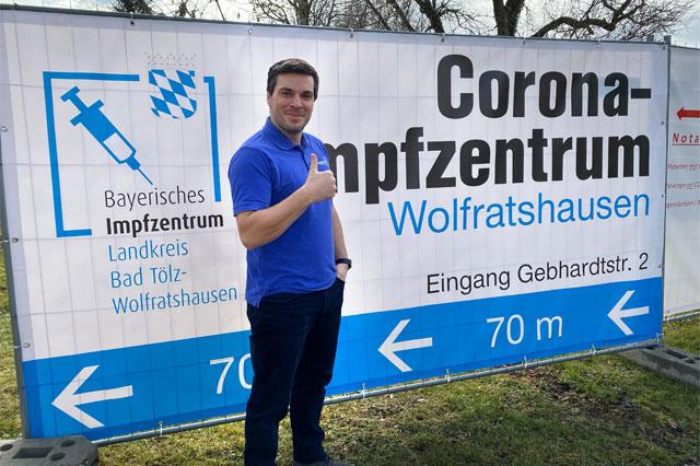 Stefan Schleicher Impfzentrum